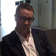 Director and co-screenwriter, Nicolas Winding Refn (Collider.com Photo)