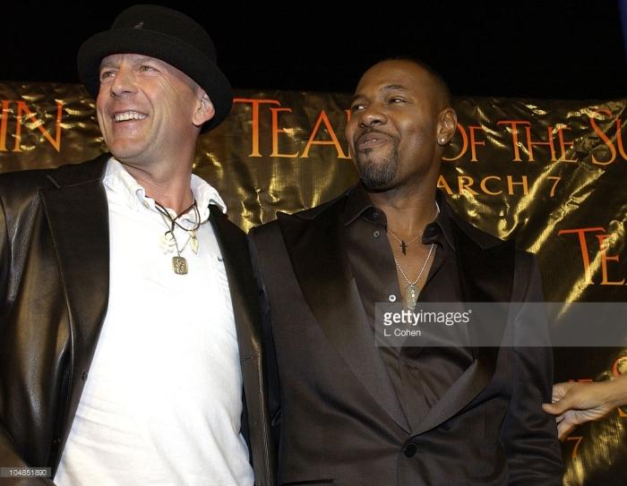 Bruce Willis & Antoine Fuqua