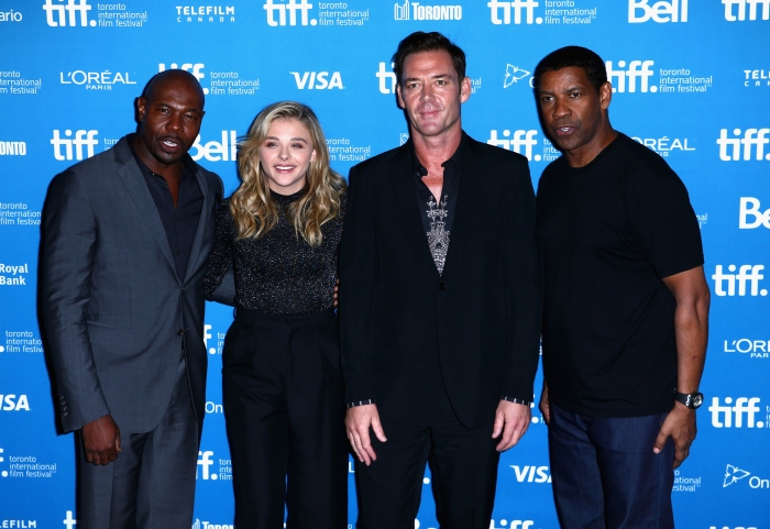 """The Equalizer"" Press Conference - 2014 Toronto International Film Festival"