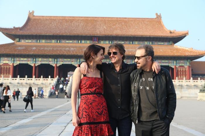 Jack Reacher China Tour - Photo Call At Forbidden City