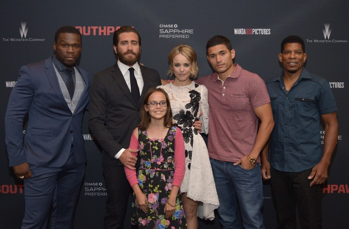 ESPN Hosted Screening Of Southpaw At LA Live